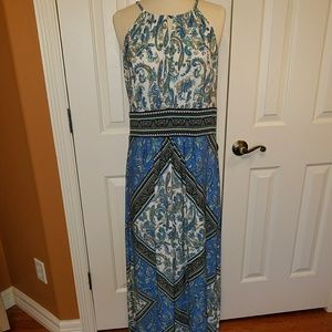 London Times size 14 maxi sundress